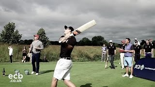 England Cricket Longest Drive - who hit the ball the furthest?