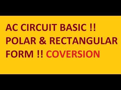AC Circuit !! Polar And Rectangular Form !!