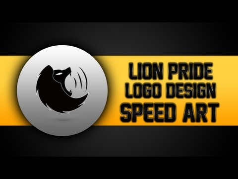 Speed Art   Lion Pride Logo Design