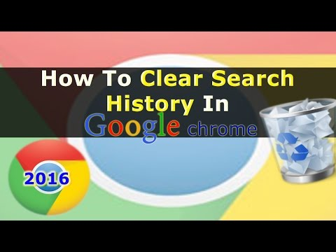 How To Clear Search History In Google Chrome Browser | Google Chrome Shortcuts Tip #2.