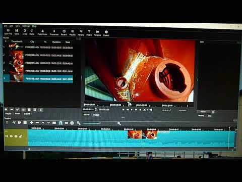 No YouTube Video Editor !! ... Shotcut for joining clips for novices like me