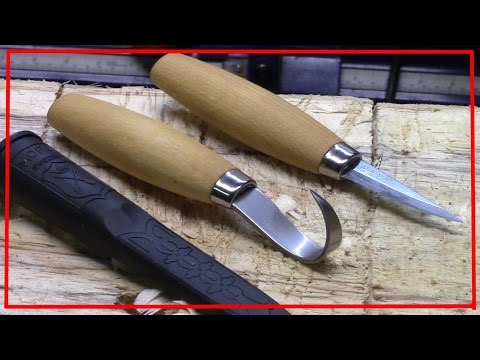 Mora 164 Hook Knife and 120 Carving Knife Unboxing