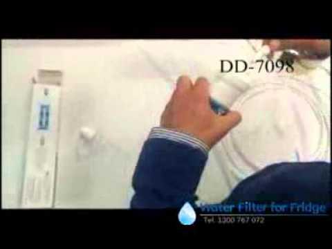 Daewoo DD-7098 Water Filter Installation