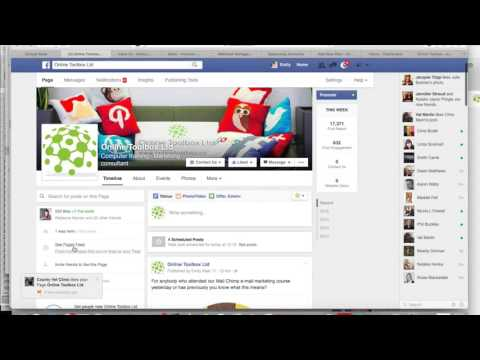 Facebook like another business page using your business page