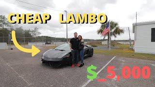 I Just Bought The Cheapest Lamborghini Gallardo Online
