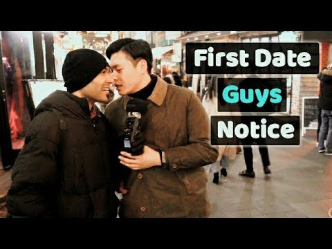 What do guys notice in a girl on the first date? 첫 데이트