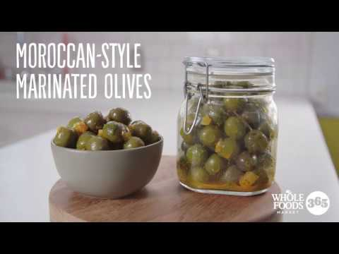 Moroccan-Style Marinated Olives | Recipes | Whole Foods Market 365