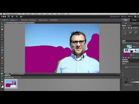 Photoshop Elements 8.0 Tutorial Remove Background