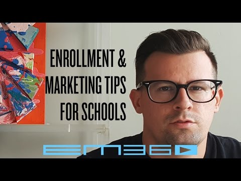 How to Market a School | Enrollment Marketing | EM360TV