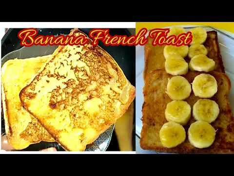 Banana French Toast || French Toast Without Eggs