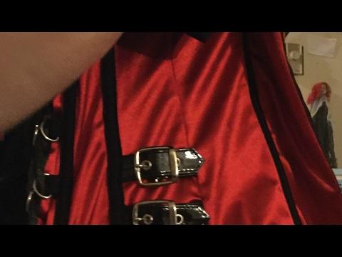 D.I.Y  corset purse, Steampunk Gothic