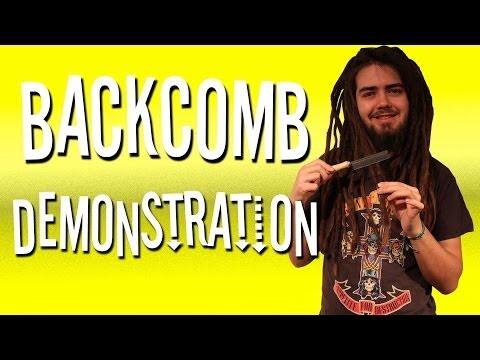 How To Make Dreadlocks - Backcomb Method!
