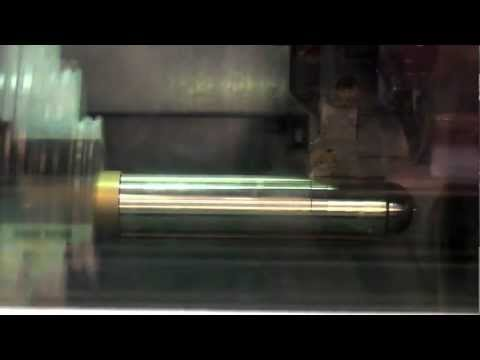 CNC Turning a cannon