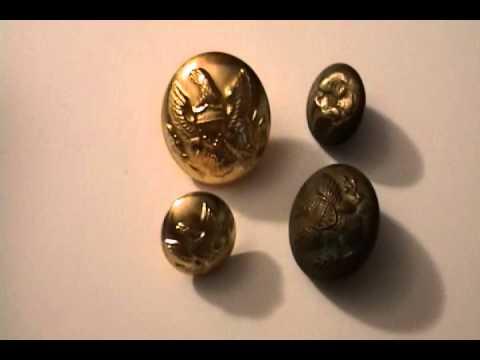 Civil War Buttons - Original And Reproduction