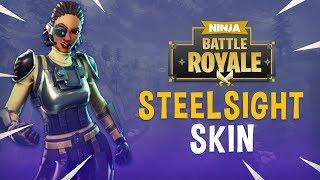 New Steelsight Skin!! - Fortnite Battle Royale Gameplay - Ninja