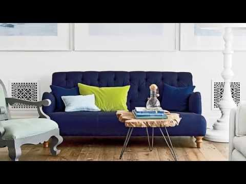 How To Pick the Perfect Living Room Color Palette | Seaside Design | Coastal Living