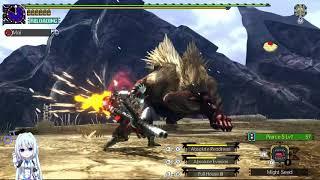 MHGU | G-rank Nargacuga solo (Valor Long Sword) - 3'37