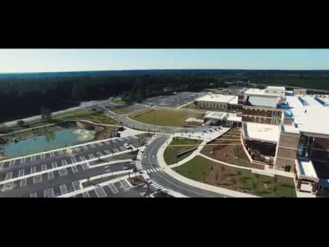 Completed VA Hospital in Fayetteville, NC