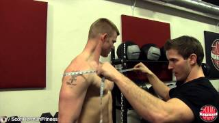 How To Measure Your Gains Arm Chest Shoulder Waist Hip Thigh Forearm