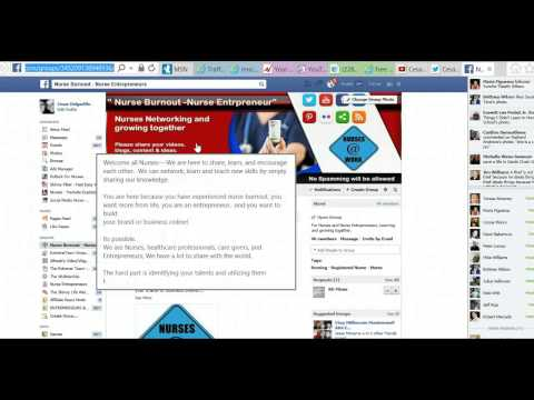 Social Media Nurse - How to add Social Media Icons or Links to Youtube Cover