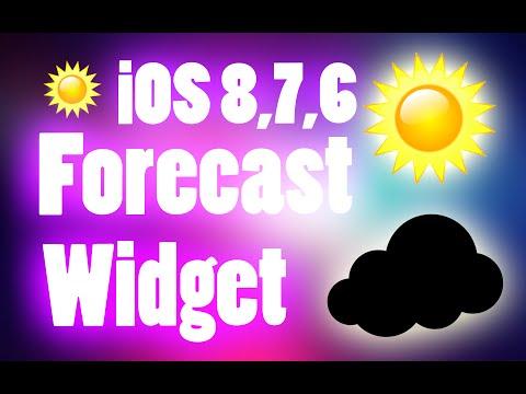 Live Weather Lock Screen Widget
