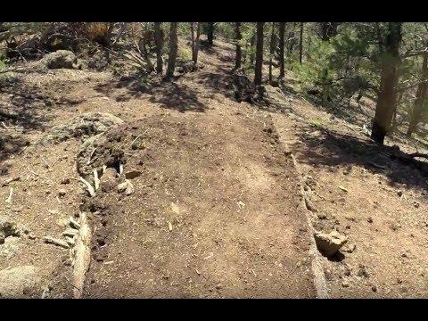 Mountain bike trail building |Bike Park part 1|