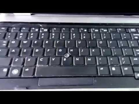DIY : HP ProBook Laptop Keypad & CMOS battery replacement.
