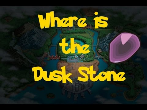 Where Is: The Dusk Stone (Location 1) (Pokemon Black/White)