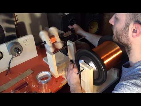 5e8 Project - Fender Power Transformer Winding Part I