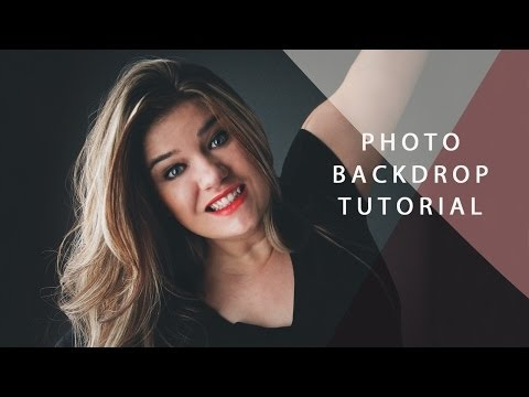 How To Make Your Own Backdrop