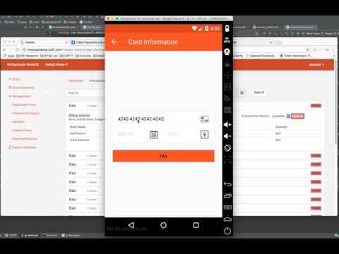 Mokets (Android) Checkout With Stripe