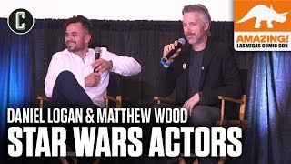 Star Wars Actors Daniel Logan (Boba Fett) & Matthew Wood (Grievous) - Amazing Con Las Vegas 2019