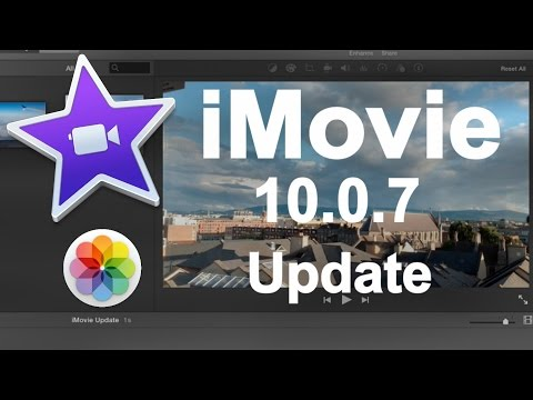 iMovie 10.0.7 Update - New Features