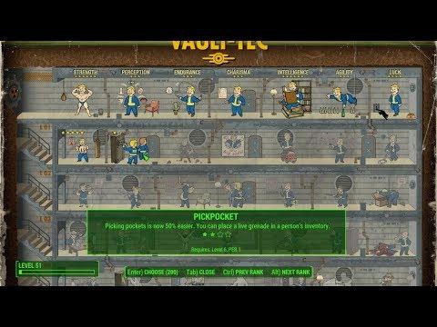 Fallout 4 - CHEAT Perk point (PC)