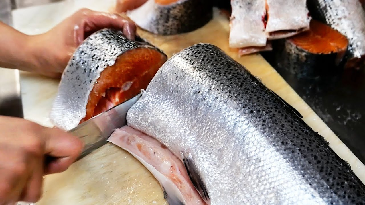 Chicago Food - The BEST SMOKED FISH in Chicago! SALMON, STURGEON, SABLEFISH Calumet Fisheries