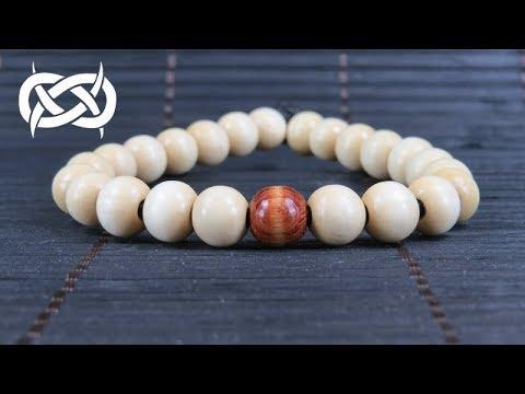 How to make an Elastic Beaded Bracelet