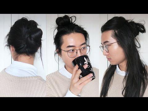Easy Man Bun Styles - Men Long Hairstyles
