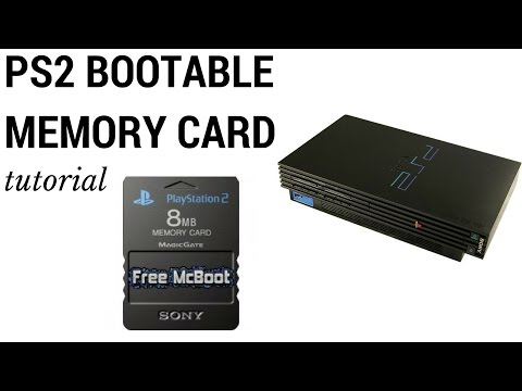 Create PlayStation 2 Bootable Memory Card