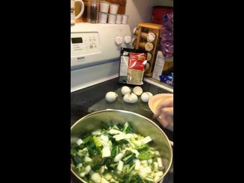 Bok Choy Egg drop Soup