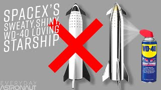 Why SpaceX ditched lightweight Carbon Composites for Stainless Steel to make a sweaty Starship