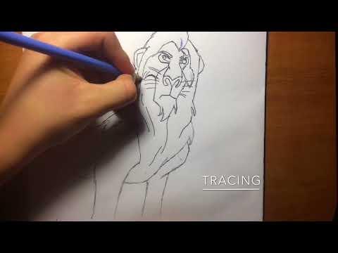 Drawing Scar