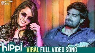 Viral Full Video Song 4K | Hippi Telugu Movie Songs | Kartikeya | Digangana | Raghu Dixit