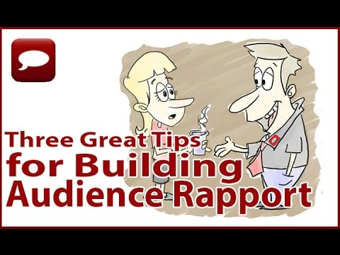 Effective Public Speaking | Tips for Building Audience Rapport | Public Speaking Melbourne