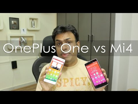 OnePlus One vs Mi4 Compared - Which Smartphone is better for You