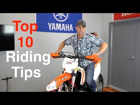 Top 10 Dirt Bike Riding Tips for Offroad and Enduro Dirt Bikes - Stop Sucking!