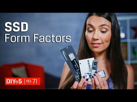 PC Build – Different SSD form factors - DIY in 5 Ep 71