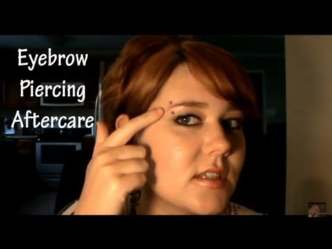 Eyebrow Piercing Aftercare