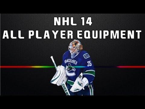 NHL 14: All Player Equipment (Goalie + Skater)