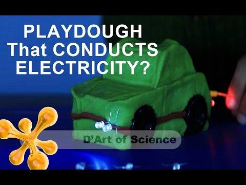 How to Make Playdough Circuit