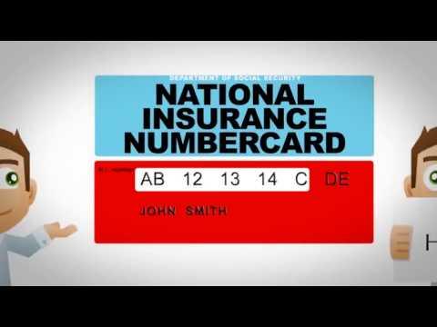 National Insurance Number Registration
